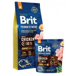 BRIT Premium By Nature JUNIOR M KURCZAK 15kg