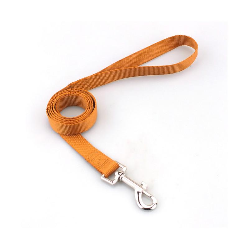 Solidna SMYCZ TAŚMOWA Materiałowa Pies 120X 2cm L PETSTORY (Brązowy)