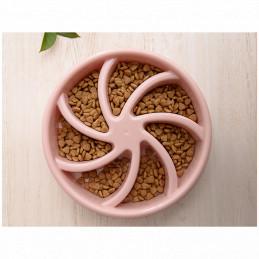 Miska Spowalniająca Jedzenie dla Psa (Różowa) PETSTORY 500ml
