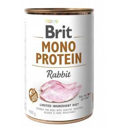 Brit Mono Protein Rabbit KRÓLIK 6 x 400g