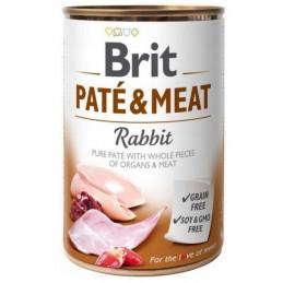 Brit Pate&Meat Rabbit KRÓLIK 6x 400g