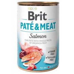 Brit Pate&Meat Salmon ŁOSOŚ 400g 6x 400g