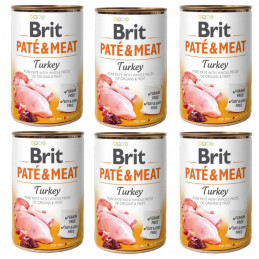Brit Pate&Meat Turkey INDYK...