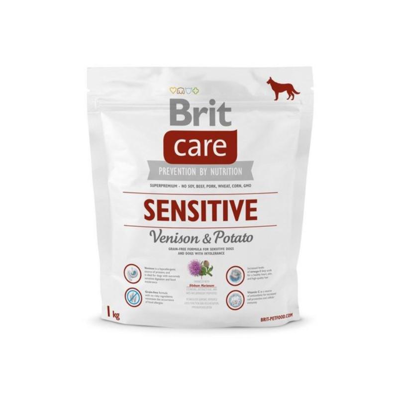 Brit Care Sensitive Venison & Potato DZICZYZNA 1kg