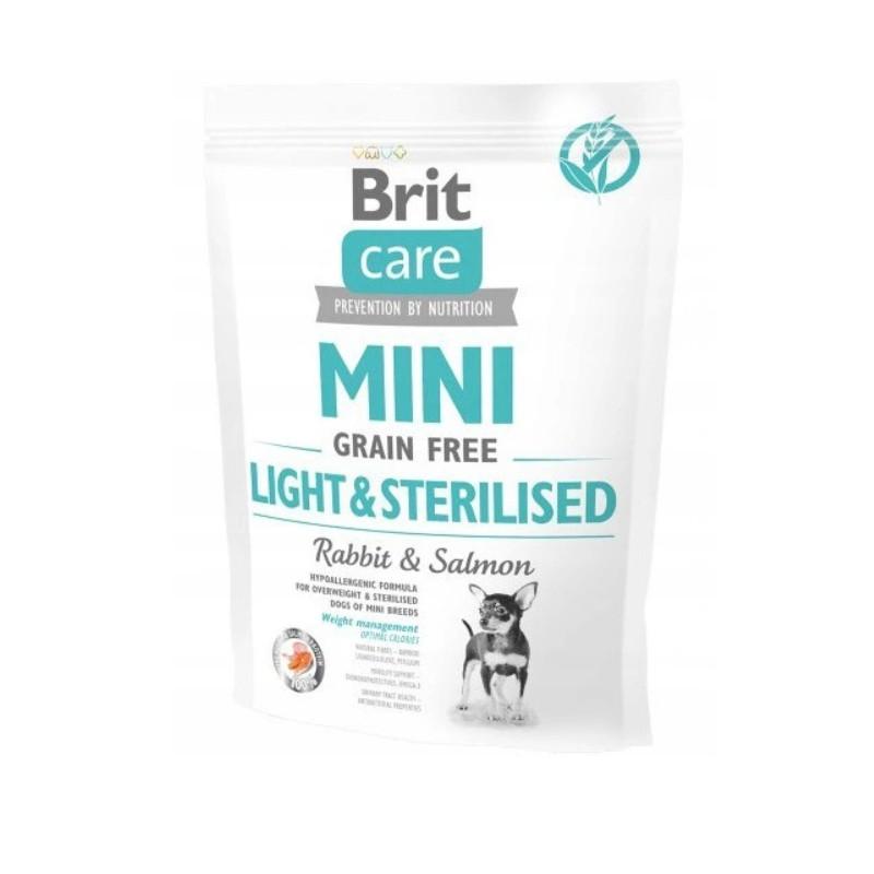 Brit Care Mini Grain-Free LIGHT&STERILISED 400g