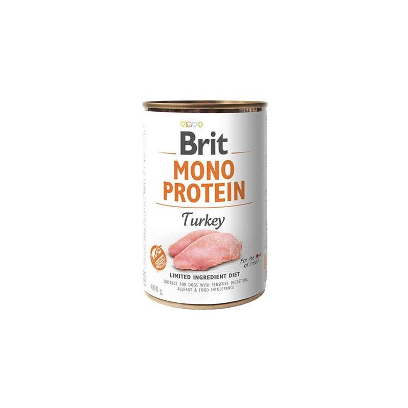 Brit Mono Protein Turkey INDYK 400g