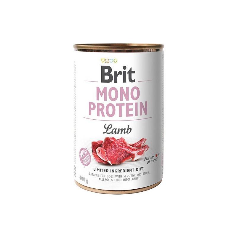 Brit Mono Protein Lamb JAGNIĘCINA 400g