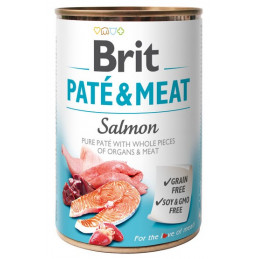 Brit Pate & Meat Dog Salmon...