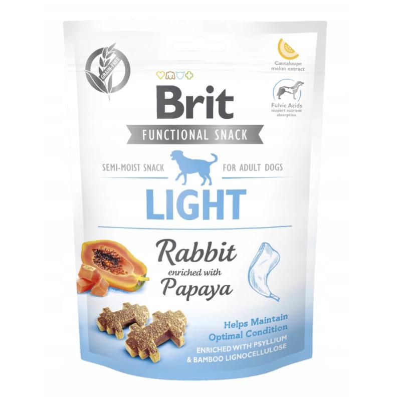 Brit Functional Snack Królik LIGHT 150g