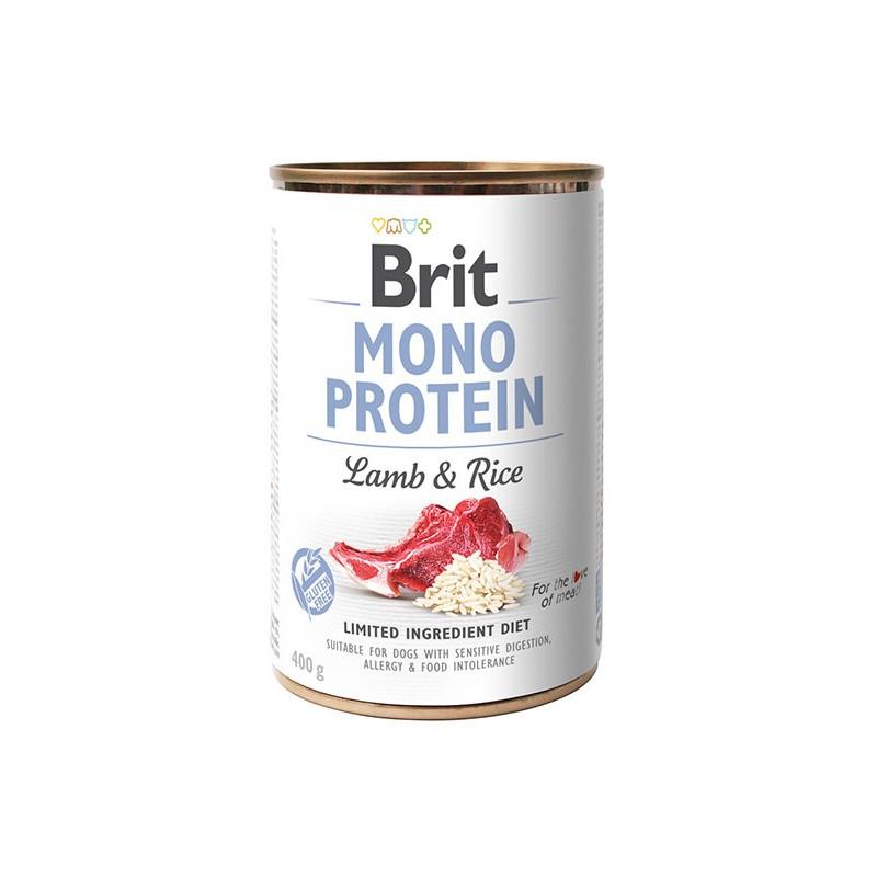 Brit Mono Protein Lamb & Rice JAGNIĘCINA 400g