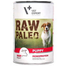 VETEXPERT RAW PALEO Puppy Monoprotein BEEF 6x 400g