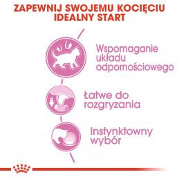 Royal Canin Instictive Kitten - Karma Mokra w Sosie dla Kociąt do 12 Miesiąca Życia 85g