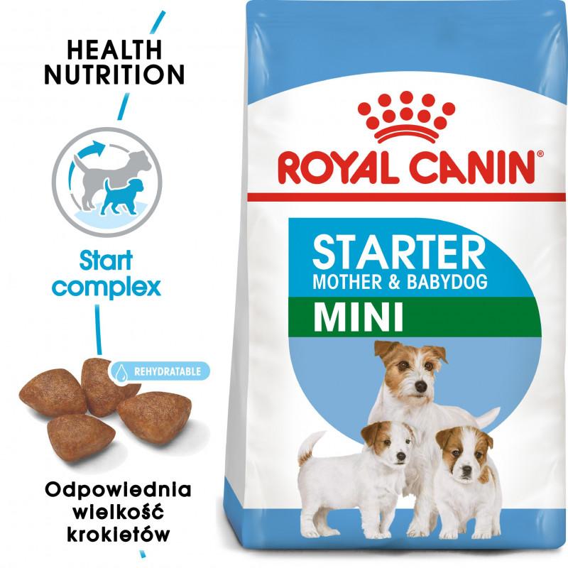 Royal Canin Mini Starter Mother & Babydog - Karma Sucha dla Szczeniąt do 2 Miesiąca i Suk Karmiących Ras Małych 1kg