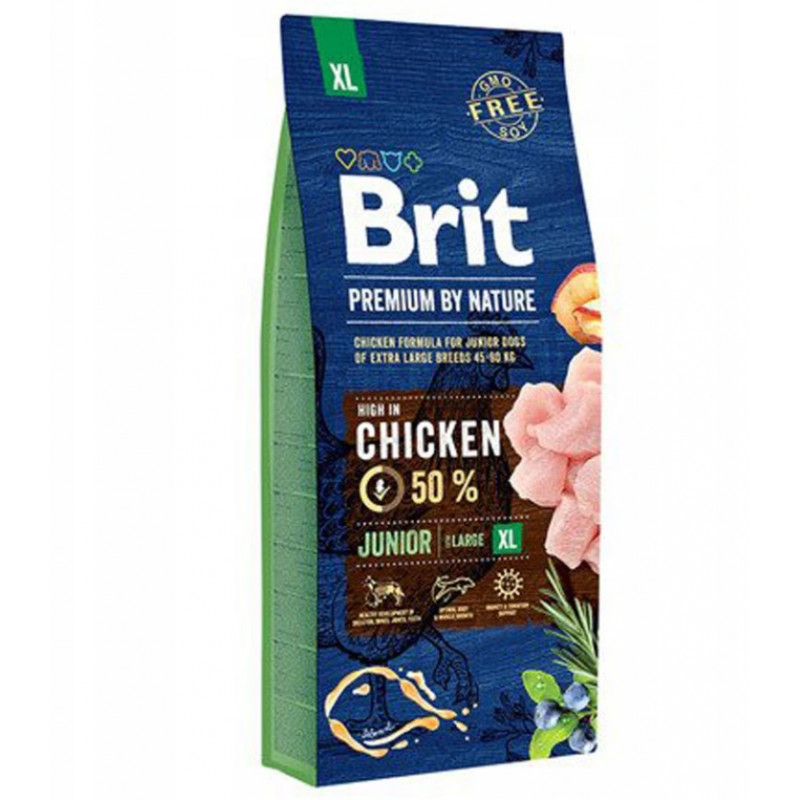 BRIT Premium By Nature JUNIOR XL EXTRA LARGE 15kg