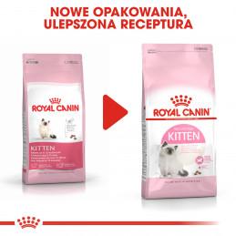 Royal Canin Kitten - Karma Sucha dla Kociąt od 4 do 12 Miesiąca Życia 10kg + KSIĄŻKA