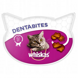 WHISKAS DENTABITES Przysmak Czyszczący Zęby 8x 40g