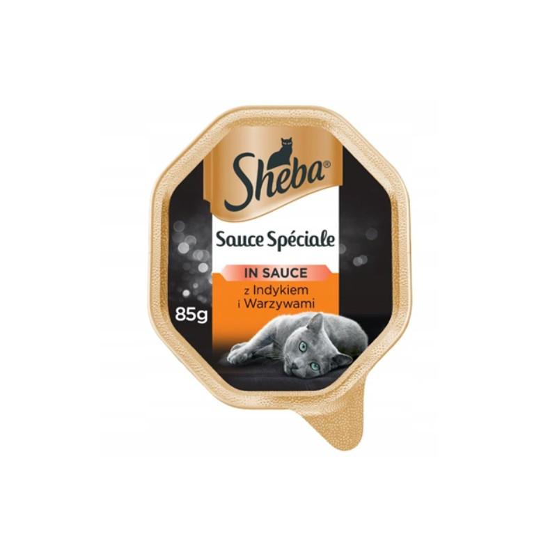 SHEBA Sauce Speciale INDYK Z WARZYWAMI w Sosie 85g