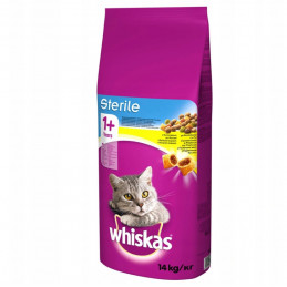 WHISKAS STERILE Adult dla...