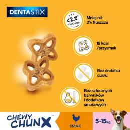 PEDIGREE DENTASTIX Chewy ChunX Przysmak Dentystyczny RASY MAŁE 68g