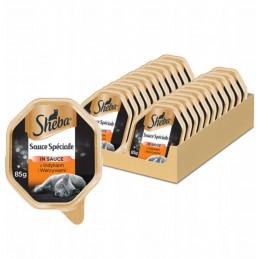 SHEBA Sauce Speciale INDYK Z WARZYWAMI w Sosie ZESTAW 22x 85g