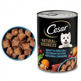 CESAR Mokra Karma dla Psa KURCZAK z Warzywami 400g