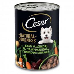 CESAR Karma dla Psa JAGNIĘCINA z Warzywami 6x400g