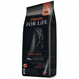 FITMIN Dog For Life Beef &...