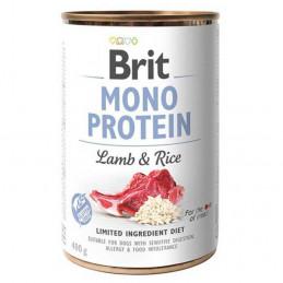 BRIT MONO PROTEIN Lamb & Rice  JAGNIĘCINA Zestaw 6x 400g