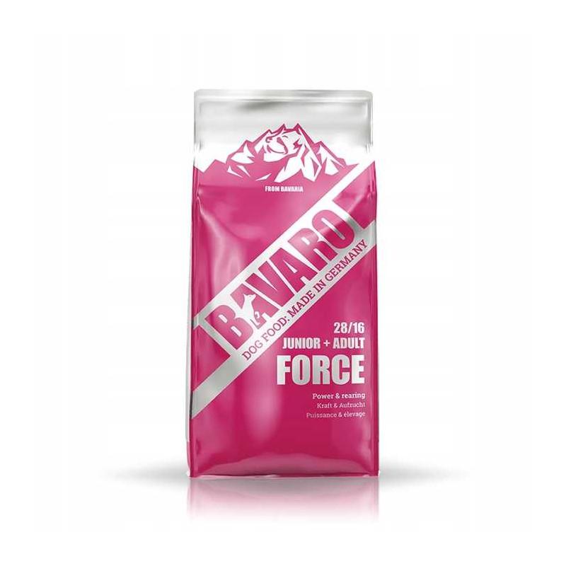 Josera BAVARO Force Junior Adult 28/16 PSY AKTYWNE 18kg