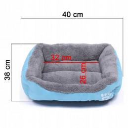 Legowisko Posłanie dla Psa lub Kota 42cm x 38cm roz. S PETSTORY (Niebieski)