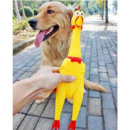 PETSTORY Kurczak L Gumowa Zabawka dla Psa