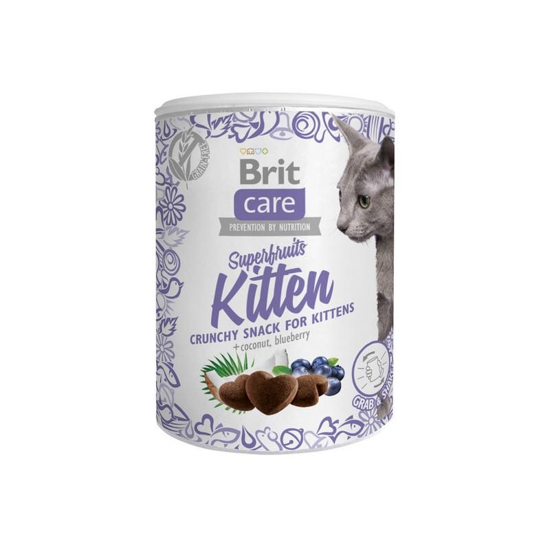 Brit Care Cat Przysmak Snack Superfruits Kitten DLA KOCIĄT 100g