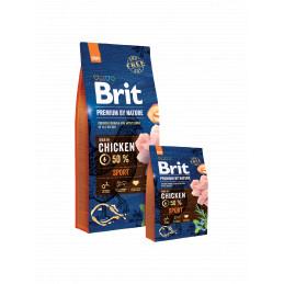 Brit Premium By Nature SPORT CHICKEN 15kg