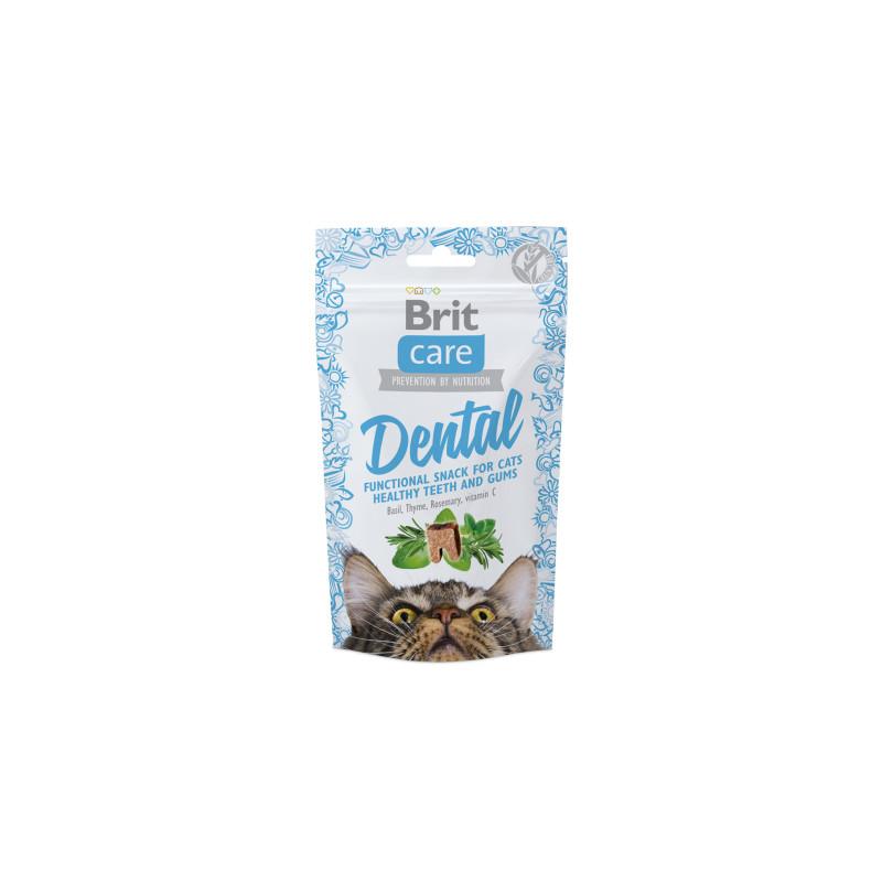 Brit Care Cat Przysmak Snack Dental 50g